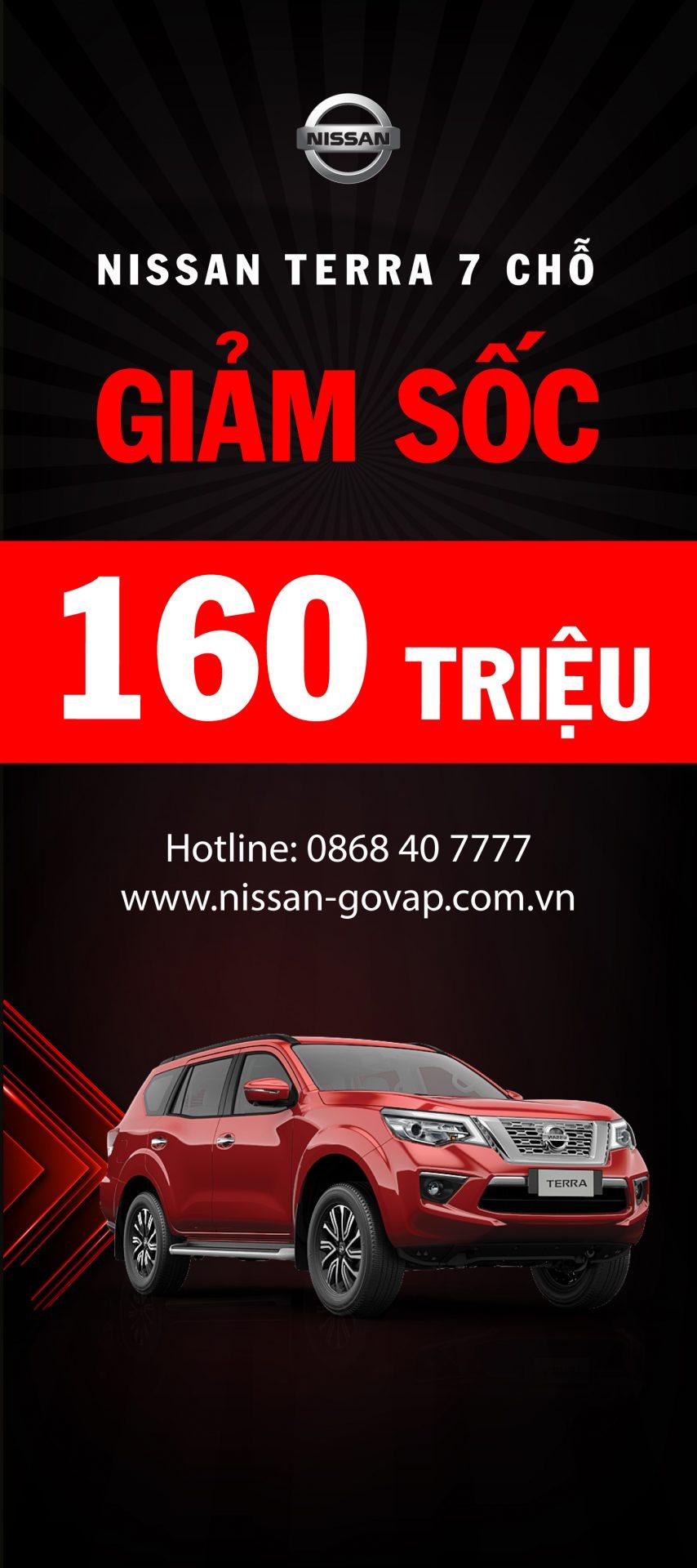 Banner quảng cáo Nissan